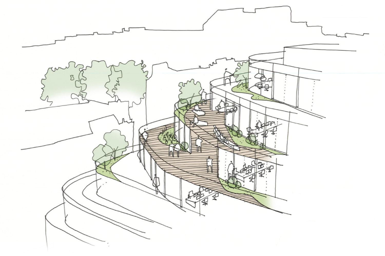 10108 60 London Wall Terrace Sketch Website Crop © Epr Architects