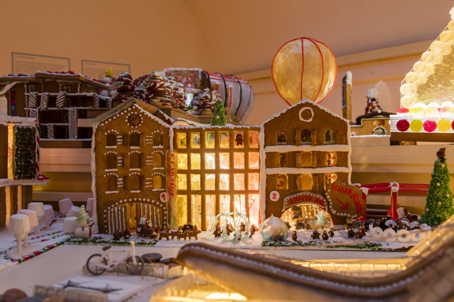 EPR Architects Moa gingerbread city - victory is sweet