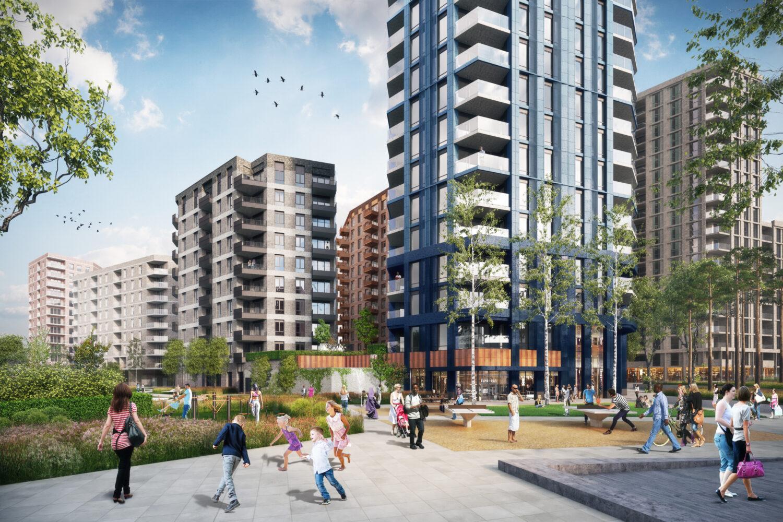 Manor Road Masterplan Public Realm Cgi © Epr Architects