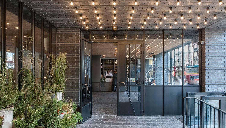 Epr architects ace hotel for Hotel entrance design