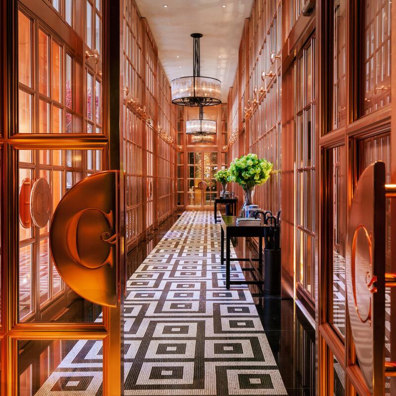 Medium Hotel Interior: EPR Architects Rosewood London
